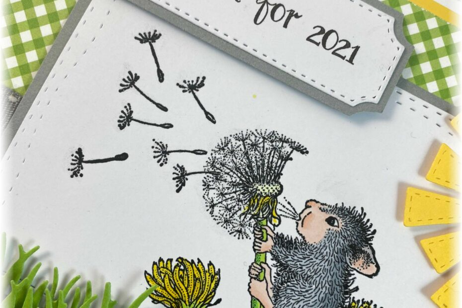 house mouse 2021 make a wish dandelion